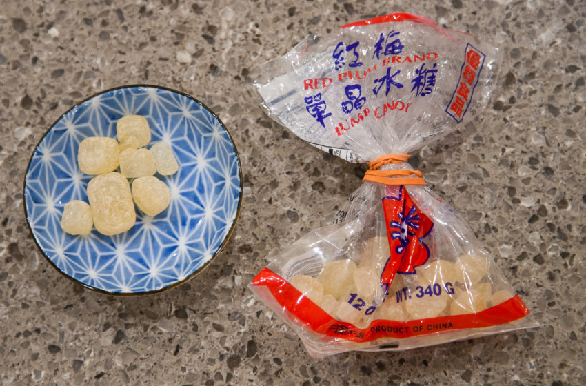 Soy-Glazed Chicken Wing Recipe - Rock Sugar/Candy